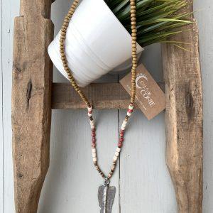 collar punta de flecha